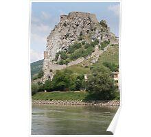 Castle Rock, Slovakia Poster