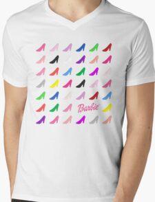 Shoe Fetish Mens V-Neck T-Shirt