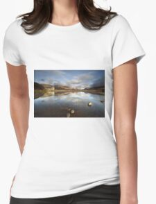 Kilchurn Castle Womens Fitted T-Shirt