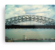 Vincent Thomas Bridge Span Metal Print