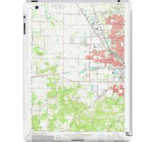 USGS Topo Map Oregon Eugene West 279828 1967 24000 iPad Case/Skin