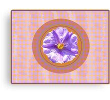 Purple Mornings Canvas Print