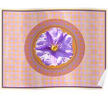 Purple Mornings Poster