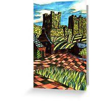 117 - BAMBURGH DESIGN - DAVE EDWARDS - WATERCOLOUR - SEP 2003 Greeting Card