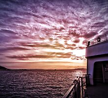 Ferry From Bainbridge by Danielle Cardenas