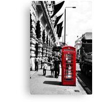 London Phonebox Canvas Print