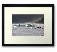 Secret Surf Perfection, South Australia Framed Print