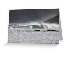 Secret Surf Perfection, South Australia Greeting Card
