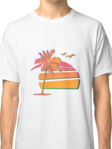 80's Sunset Classic T-Shirt