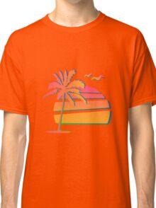 80's Sunset Classic T-Shirt