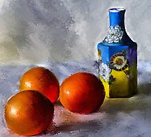 Orange, Yellow, Blue...Close to You by © Helen Chierego