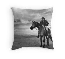hunts beach, south westland, nz Throw Pillow