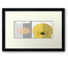 Finn and Jake Framed Print
