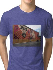 Obey Wall Mural Tri-blend T-Shirt