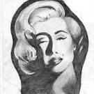 Marilyn Monroe by BigBlue222