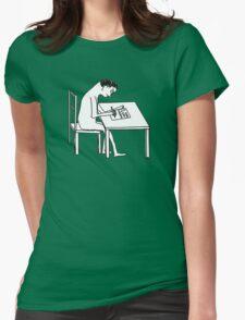 David Shrigley 'I AM VERY HAPPY' Shirt Womens Fitted T-Shirt