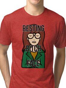 Daria's Resting Bitch Face Tri-blend T-Shirt