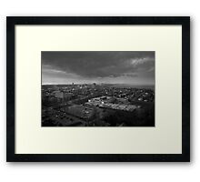 Clouds Over the City Framed Print