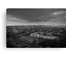Clouds Over the City Canvas Print