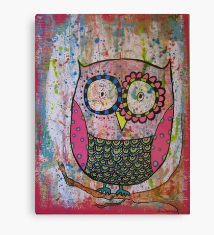 Mr. Howie Owl  Canvas Print