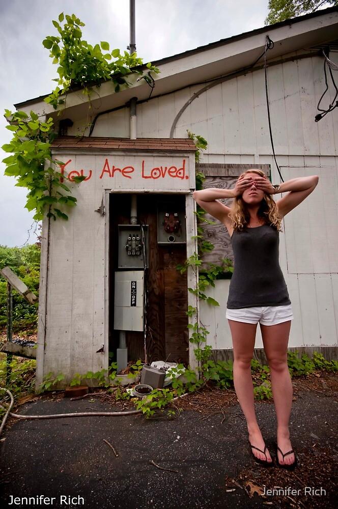 you are loved. by Jennifer Rich
