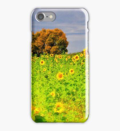 Rigby Idaho - Dreaming Of Sunflowers iPhone Case/Skin
