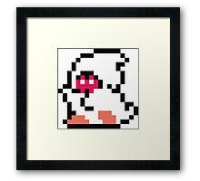 Bubble Bobble Enemy Framed Print