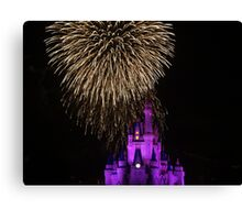 Magic Kingdom Fireworks Canvas Print