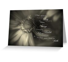 Traditional Vows Greeting Card