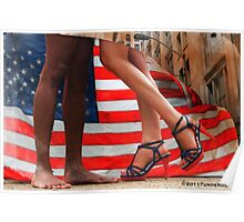 Happy fourth of July Poster
