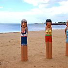 The Bollards in Geelong by CatherineWinter
