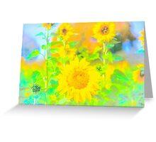 Rigby Idaho  Sunflower Feelings Greeting Card