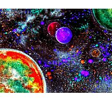 Super Intense Galaxy Photographic Print