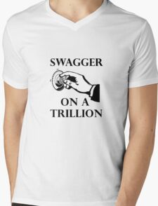Swagger on a trillion Mens V-Neck T-Shirt