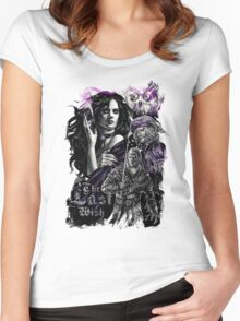 The Witcher - The Last Wish Women's Fitted Scoop T-Shirt
