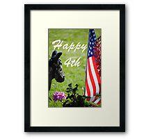 Happy 4th  Framed Print