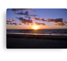 Sunrise - Gold Coast Canvas Print