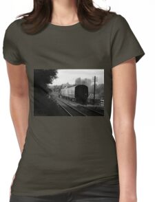 Last Train Home Womens Fitted T-Shirt