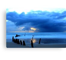 Shipwreck Sunrise Canvas Print