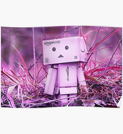 Danbo - In A Pink/Purple World Poster
