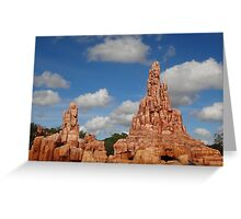 Big Thunder Mountain Greeting Card