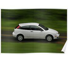 Panning Car Poster