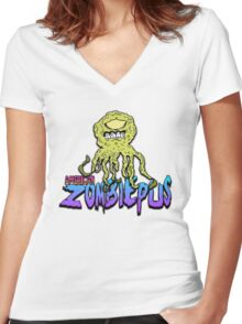 American Zombiepus Women's Fitted V-Neck T-Shirt