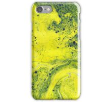 Yellow Marble iPhone Case/Skin