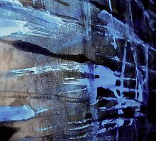 dreaming deep water.... blue ice wall by banrai