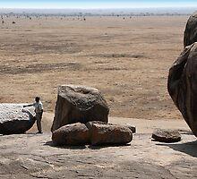Drum Rock, view 2, Tanzania by Carole-Anne