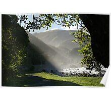 """""""Sea mist and sunshine"""" -  Kaikoura NZ Poster"""