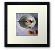 The Dish Ran Away With The Egg and Spoon Framed Print