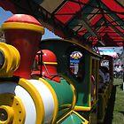 """Wooooo-Woo! Carnival Train."" by waddleudo"