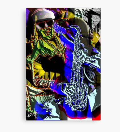 PHANTOM of the SAX Canvas Print